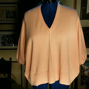 Michael Kors Pink Pure Cashmere Sweater. L